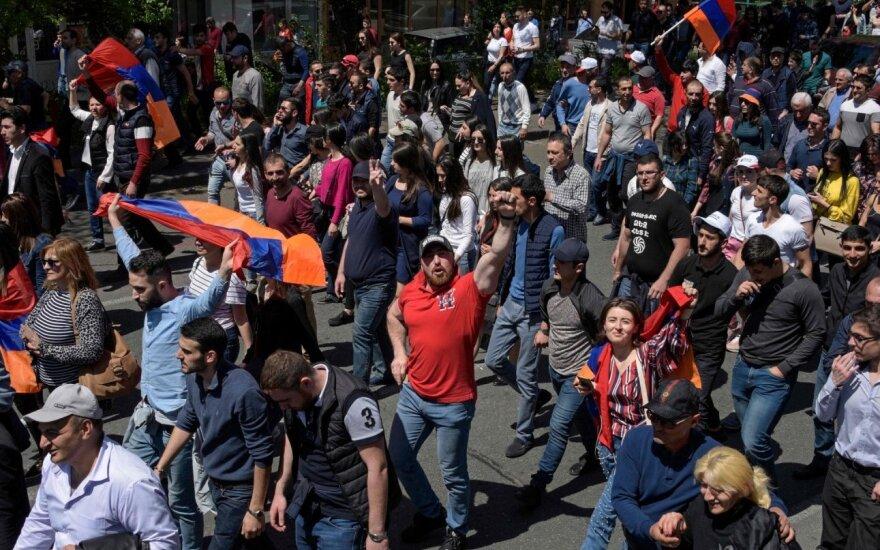 """""""Требуем смену власти"""": в Армении снова проходят массовые акции протеста"""