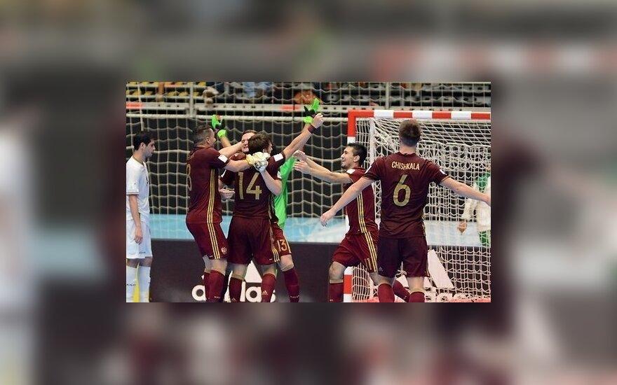 Сборная России — в финале чемпионата мира по футзалу