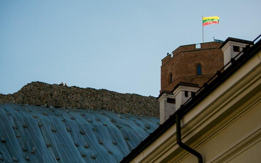 Вильнюсская мэрия считает, что людям не хватает информации о закрытии горы Гедиминаса