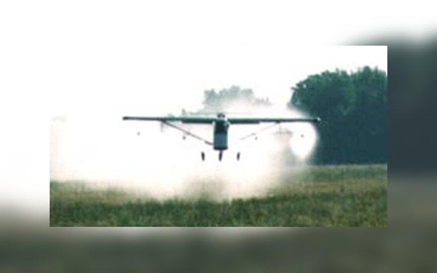 Под Калининградом разбился легкомоторный самолет