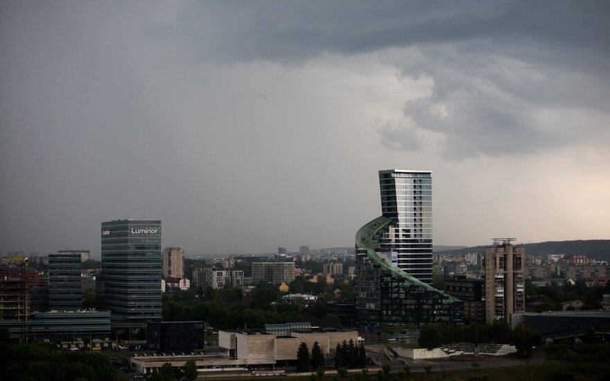 В Литву идет циклон: ожидается резкая смена погоды