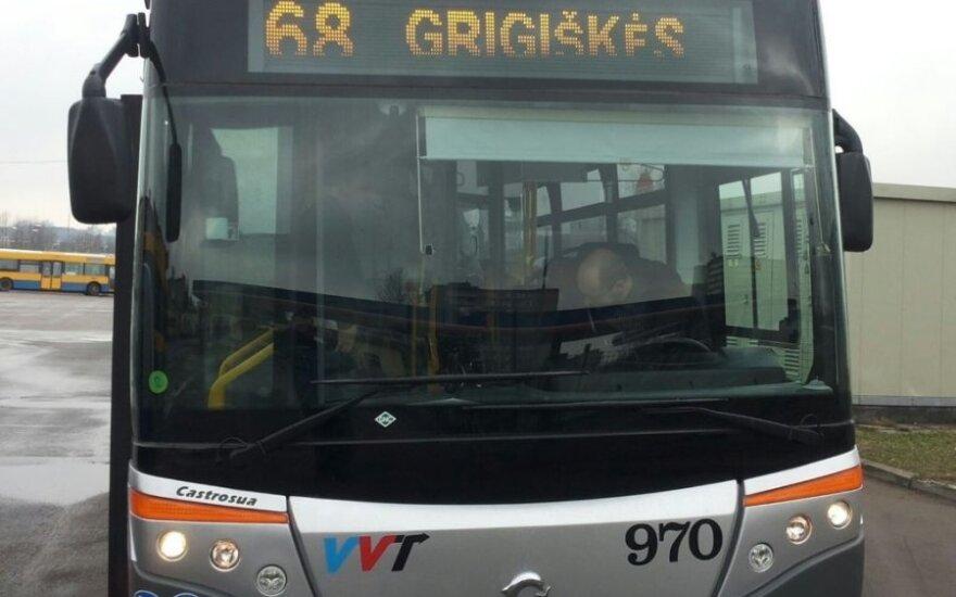 Ekologiški autobusai, kuriais pirmiausia pasipildys Vilnius