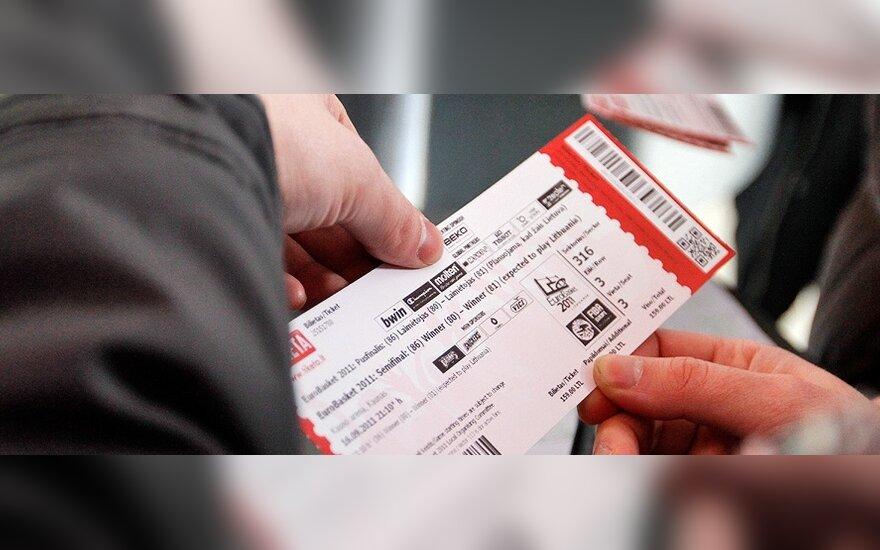 Europos čempionato bilietų pardavimas