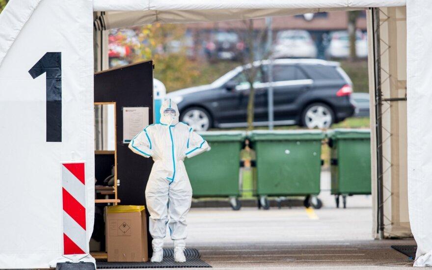 Предварительные данные: за сутки в Литве установили 966 новых случаев коронавируса