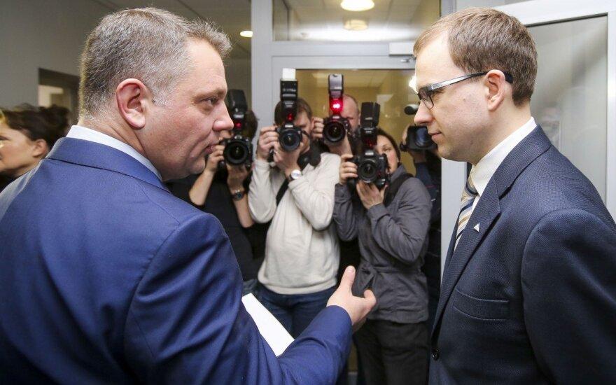 Eligijus Masiulis ir Vytautas Gapšys