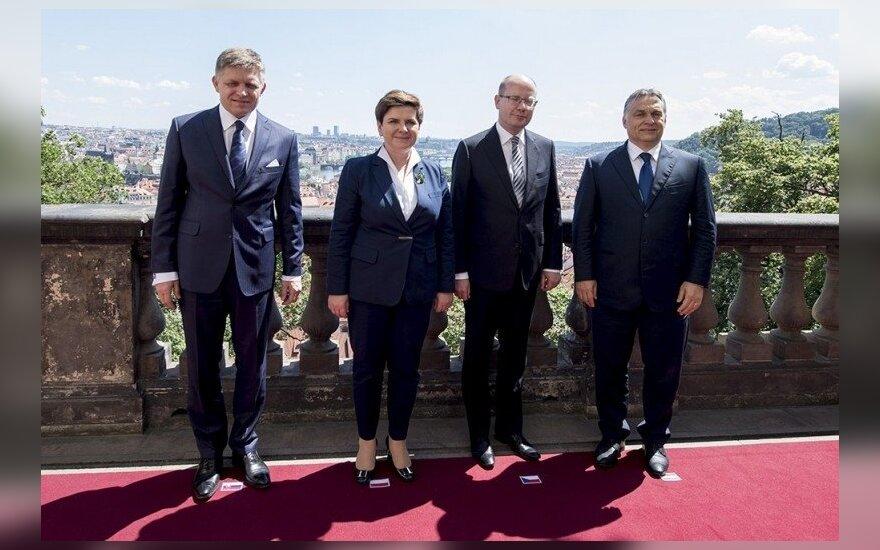 Polska przejęła prezydencję V4. Foto: premier.gov.pl