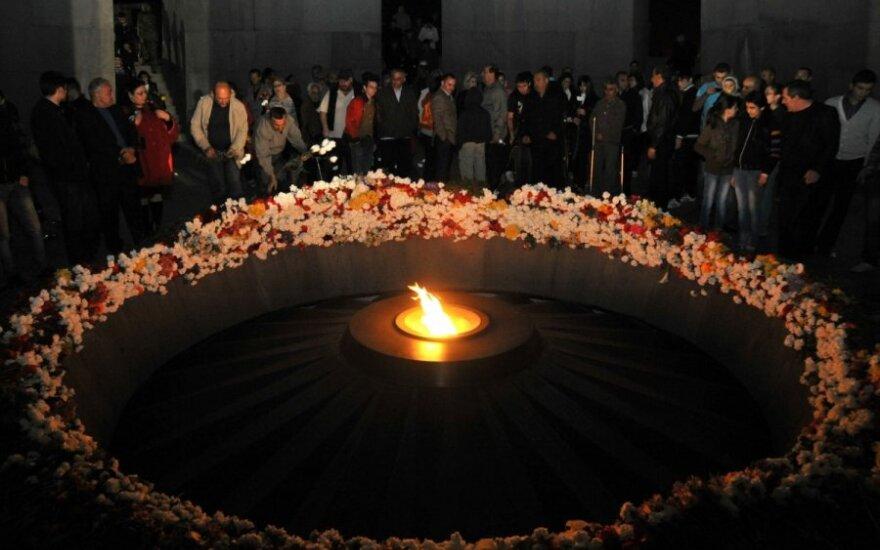 Armėnijoje minima Genocido aukų atminimo diena