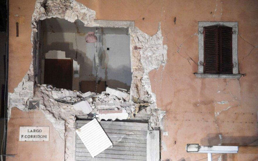 В Италии произошло землетрясение магнитудой 5,5