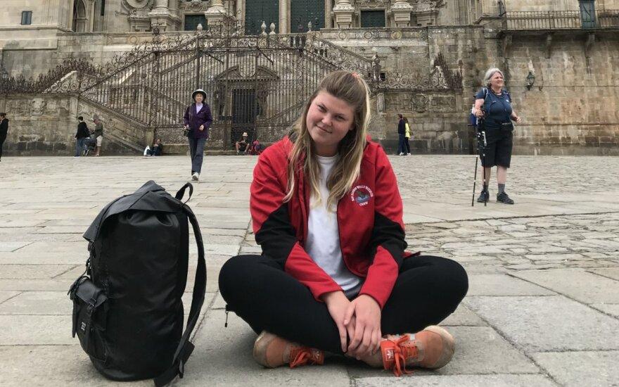 """Студентка из Вильнюса, прошедшая """"Камино де Сантьяго"""""""