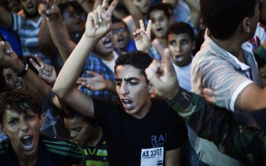 Libijos sotinėje Tripolyje - sukilimas