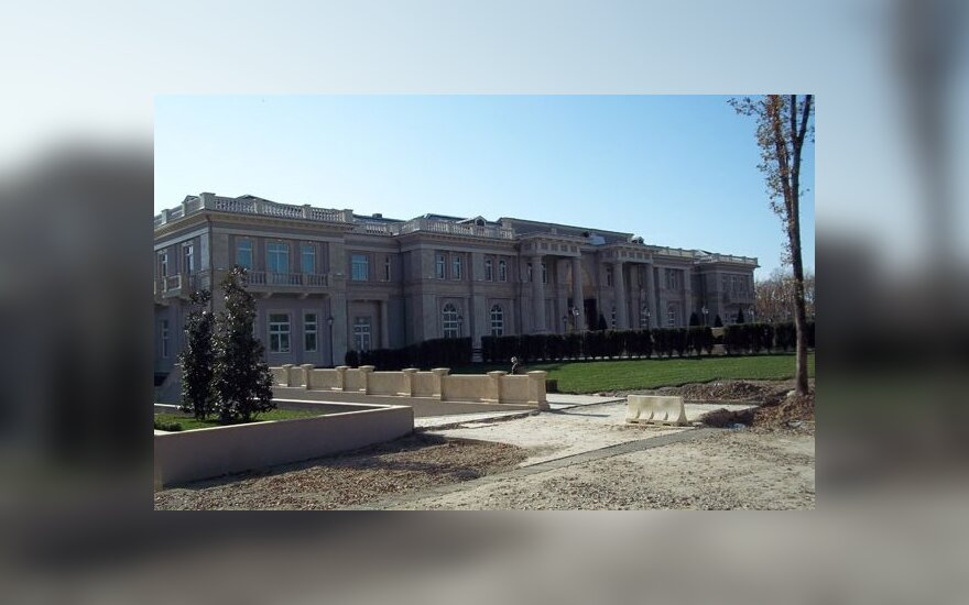 Galimai statoma V.Putino rezidencija prie Juodosios jūros, ruleaks.net