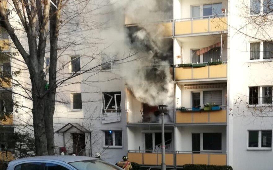 В Германии при взрыве в жилом доме погиб один и ранены 25 человек