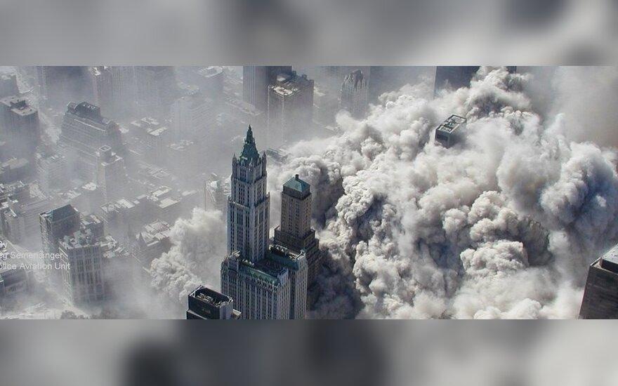 Unikalios Rugsėjo 11 d. teroro akto nuotraukos, nufotografuotos iš sraigtasparnio