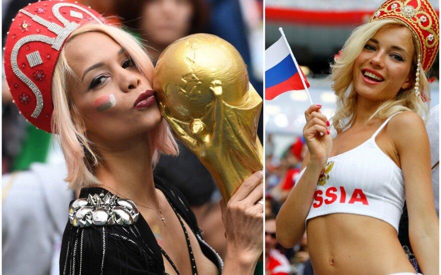 Rusijos futbolo rinktinės sirgalės