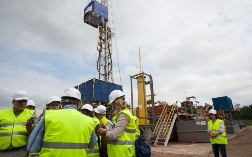 Naftos ir dujų paieškos platforma