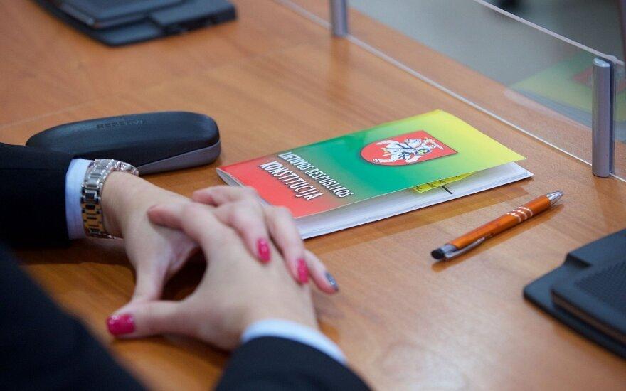 В Литве проходит экзамен по Конституции