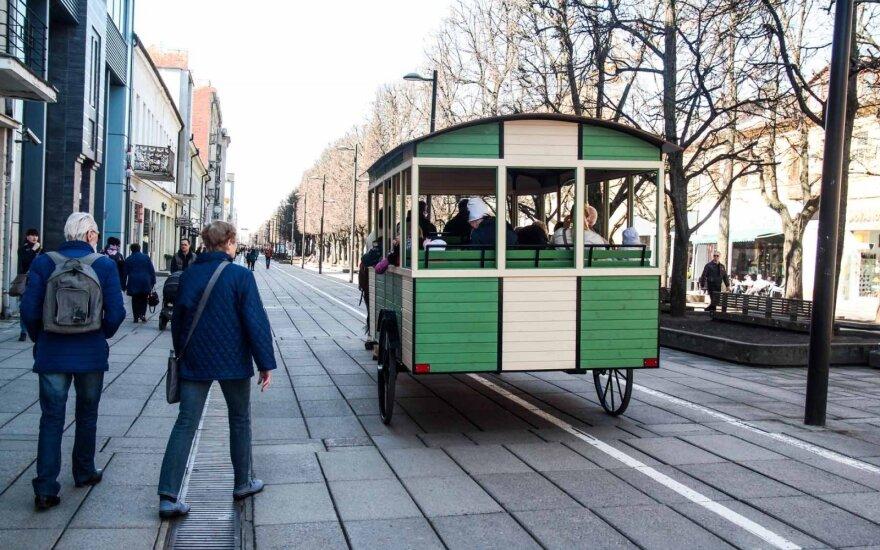 Компания Kauno autobusai продает конку