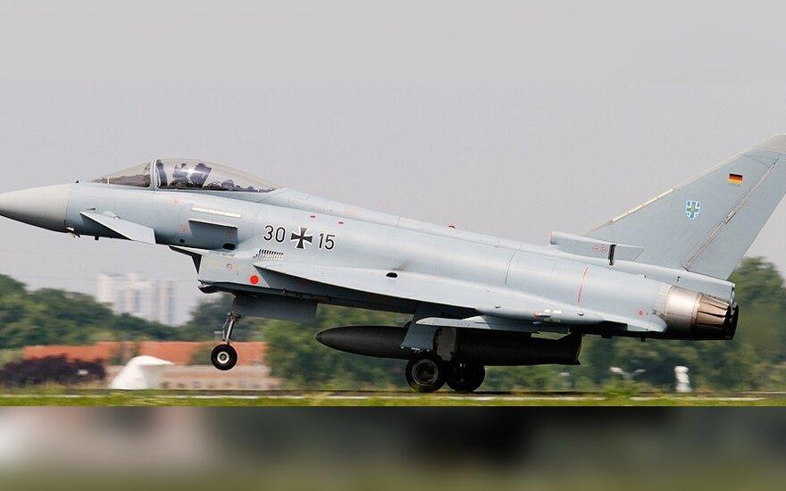 В Литве сели английские истребители, прибывшие для укрепления натовской миссии ПВО