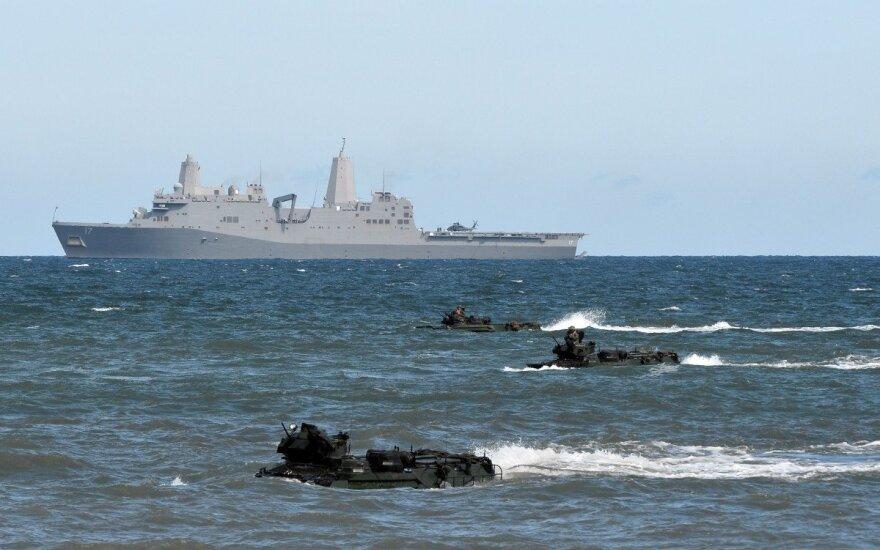 Десятки кораблей НАТО вышли в Балтийское море для маневров