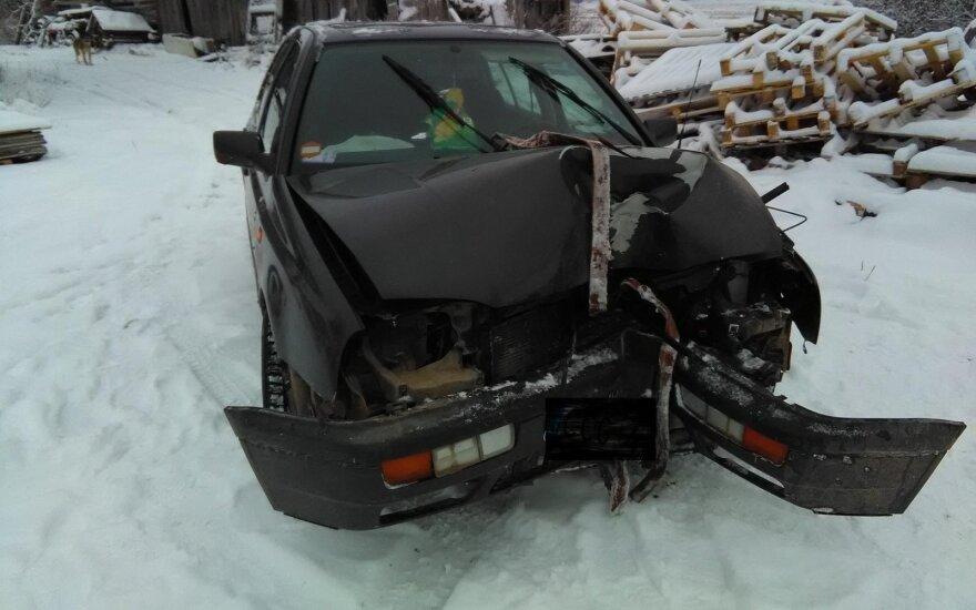 Сбежавший с места ДТП водитель был пьян