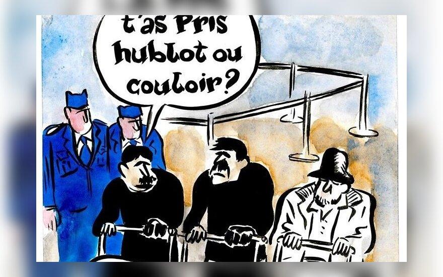 Сharlie Hebdo опубликовал карикатуру на взрывы в Брюсселе