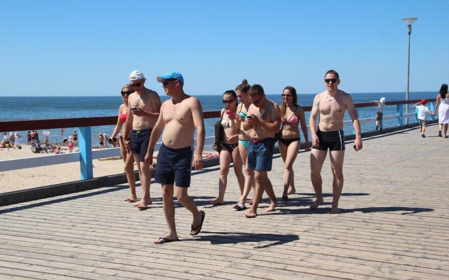 Латвиец собирает подписи за возвращение Паланги Латвии