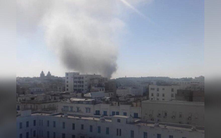 Tunise nugriaudėjo galingas sprogimas
