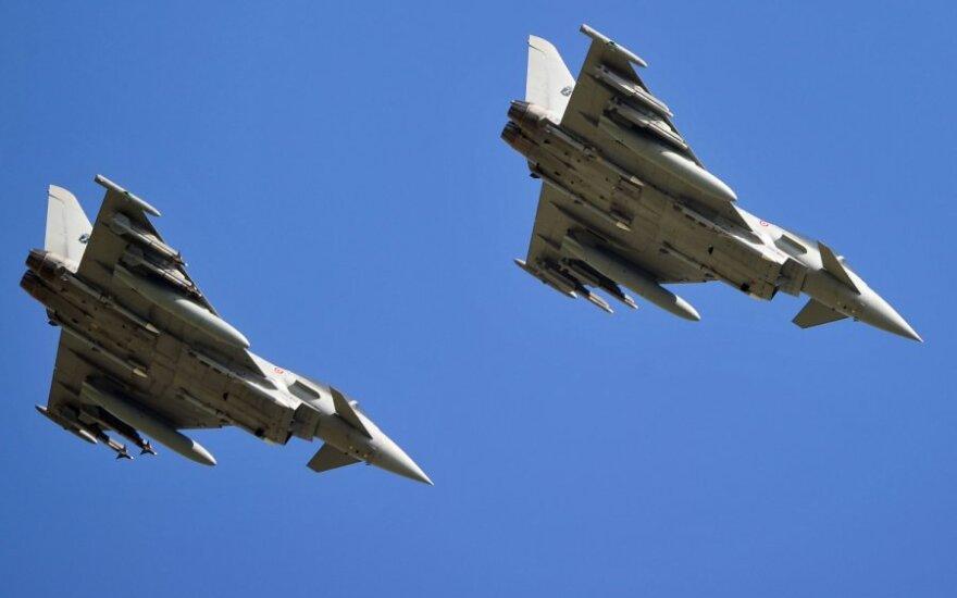 К миссии воздушной полици НАТО присоединились истребители ВВС Германии