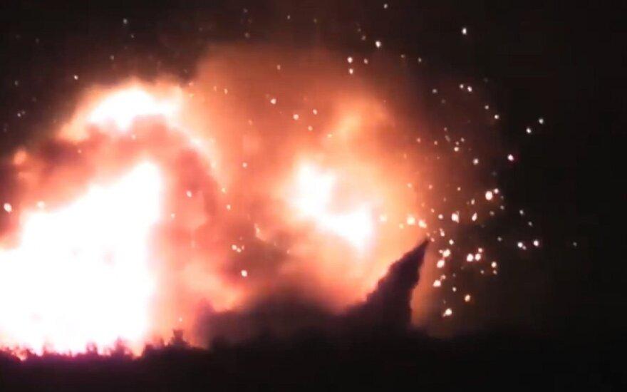 Взрывы боеприпасов на Черниговщине