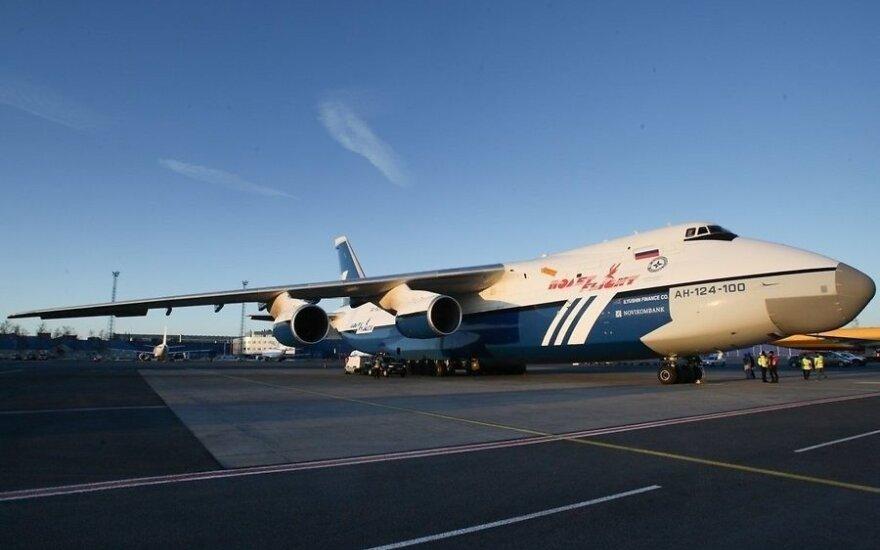 В Таллин прилетел один из крупнейших в мире самолетов
