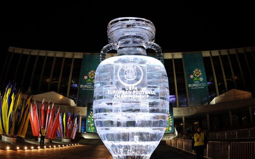 Kijevas prieš 2012 metų Europos futbolo čempionato burtų traukimą