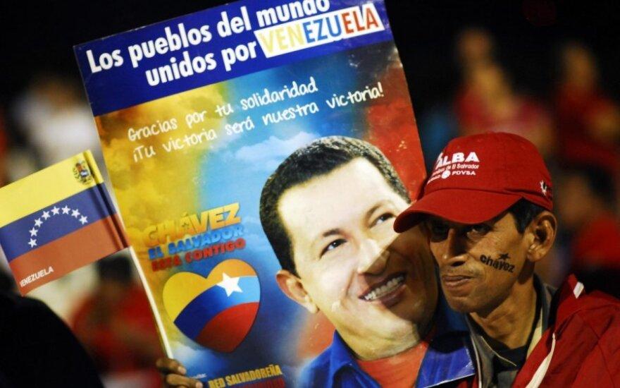 """Покойный Чавес """"творит чудеса"""": явился рабочим в подземке Каракаса"""