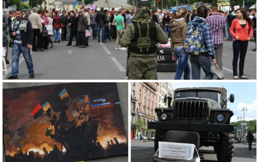 DELFI в Киеве: Майдан как музей и место для активистов и туристов