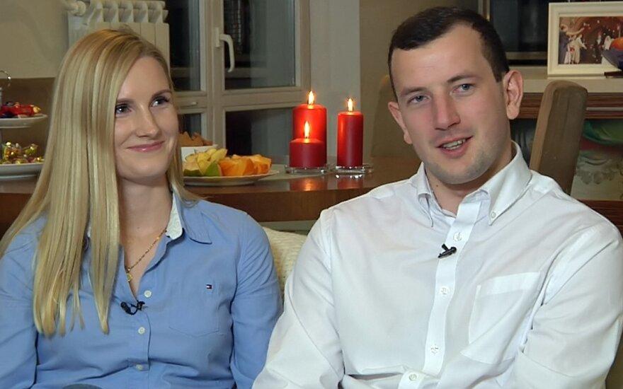 Virginijus Sinkevičius su žmona