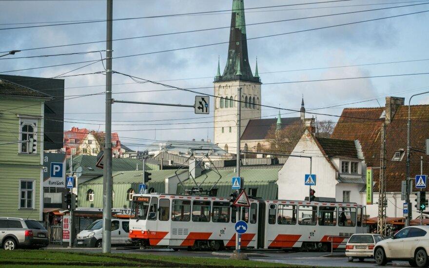 ФОТО, ВИДЕО: После грозы и ливня улицы Таллина оказались затоплены