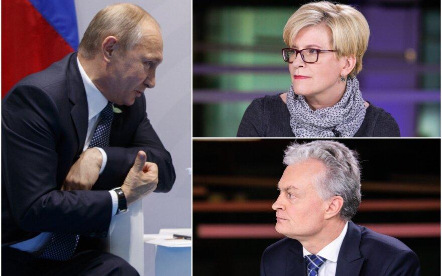 Опрос жителей: должен ли президент Литвы встретиться с Путиным