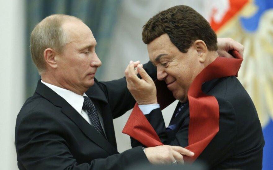 Vladimiras Putinas, Josifas Kobzonas