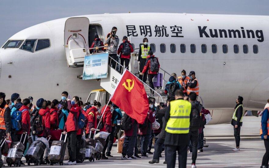 МИД Литвы предупреждает намеревающихся отправиться в Китай: их может ждать карантин