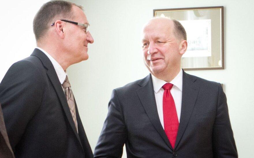 Agis Čaplikas ir Andrius Kubilius