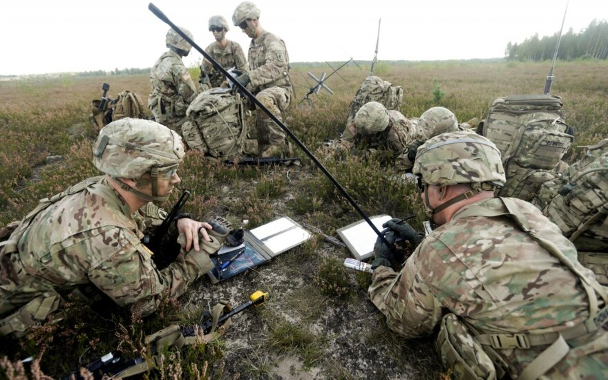 Ринкевич в Вашингтоне: Латвия хочет, чтобы армия США осталась на постоянной основе