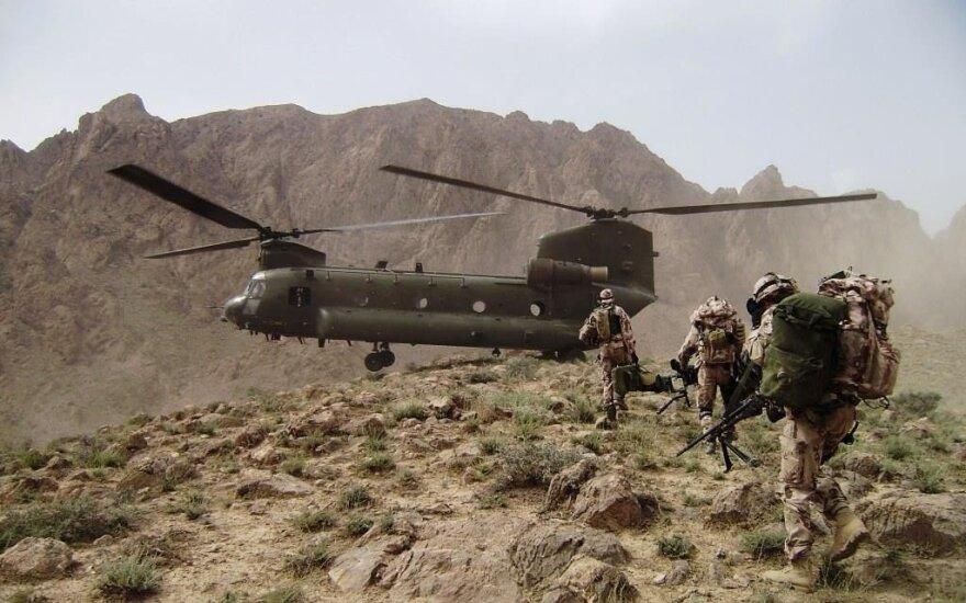 Министр обороны: Литва должна участвовать в международной операции в Афганистане