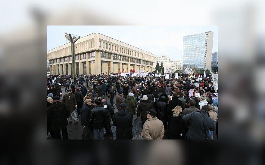 В Вильнюсе готовится еще один масштабный митинг