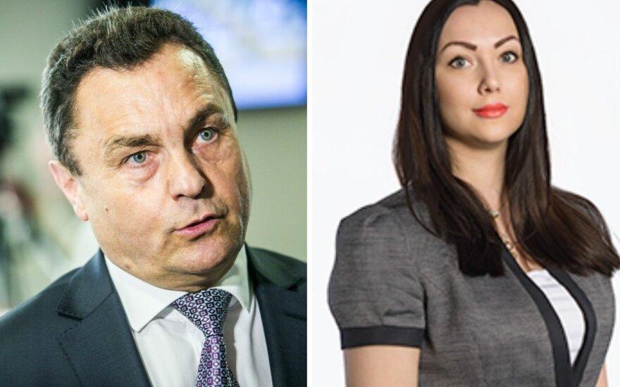 Petras Gražulis ir Patricija Pachomovaitė