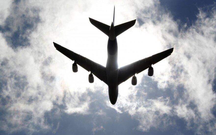 Самолет экстренно сел в Глазго из-за угрозы взрыва