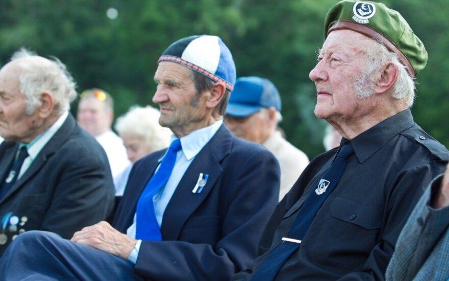 Слет ветеранов СС в Эстонии: мы готовы и сегодня воевать и умереть