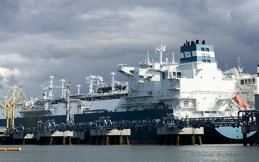 Импорт газа в Литву через терминал СПГ продолжает расти