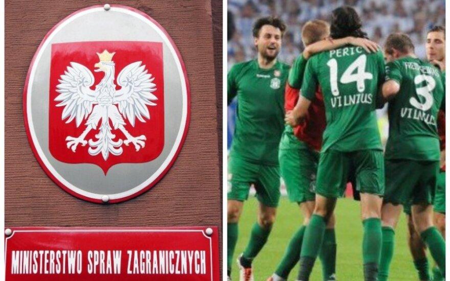"""Польские дипломаты осудили антилитовский инцидент в Познани и поздравили """"Жальгирис"""""""
