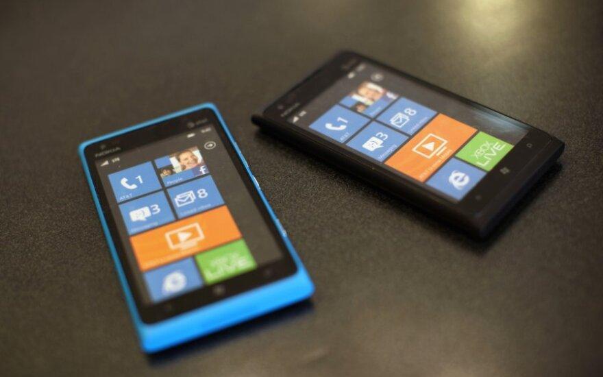 """Nokia Lumia 900"" išmanieji telefonai"