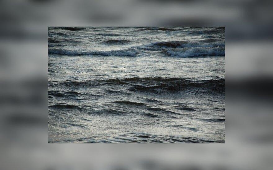 Jūra, vanduo, bangos, pajūris