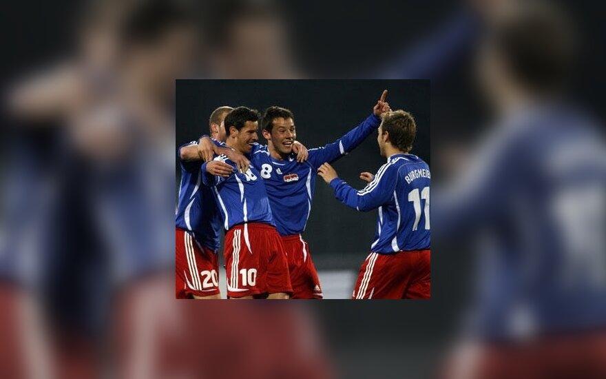 Lichtenšteino rinktinės futbolininkai